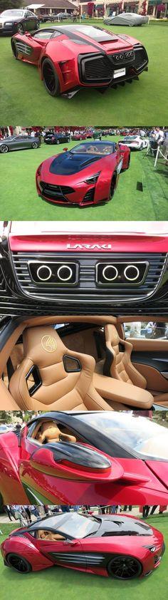 2014 Lareki Epitome supercar concept