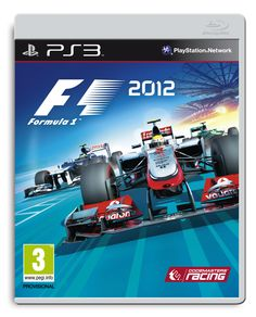 Official PS3 packshot of F1 2012, featuring McLaren, Williams, and Caterham.
