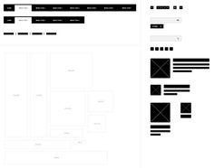 Free Photoshop Wireframe Kit