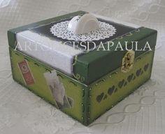 """Caixa de chá """"Verde"""""""