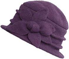 Amazon.co.uk: Purple - Hats & Caps / Accessories: Clothing Trilby Hat, Beanie Hats, Purple Accessories, Wooly Hats, Caps Hats, Women's Hats, Shirt Bluse, Cloche Hat, Winter Warmers