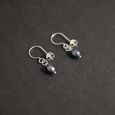 Pearl Hook Earrings