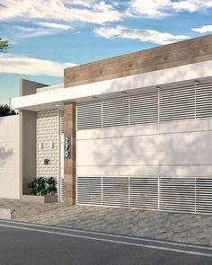 Buxus, Ideas Para, My House, Garage Doors, Sweet Home, Outdoor Decor, Home Decor, New Houses, Exterior Cladding