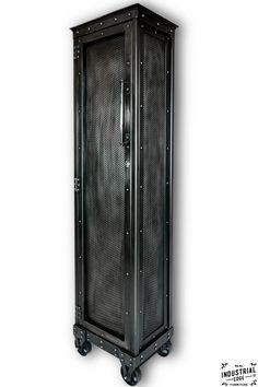 Industrial Rolling Locker – Real Industrial Edge Furniture | Custom, Industrial, Vintage, Handmade