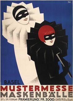 Pierrot and Pierrette masked ball poster Art Prints, Art Deco Posters, Fine Art, Fine Art Giclee Prints, Vintage Art, Art Deco Illustration, Illustration Art, Art, Vintage Posters