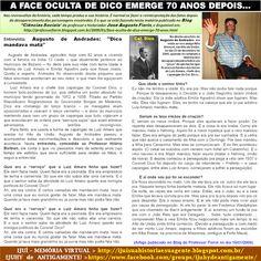 IJUÍ - RS - Memória Virtual: A face oculta do Cel. Dico, ex-Intendente e Prefei...