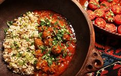 Traditional Recipe: North African meatballs (boulettes)    Photo: Fred R. Conrad/The New Yor..., ,