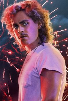 Download Stranger Things: Billy Hargrove and Fireworks Wallpaper | CellularNews