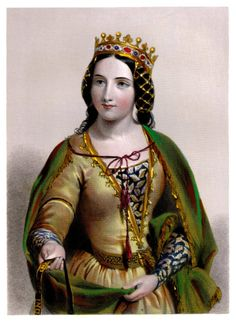 Queen Anne Neville, wife of Richard III. Last Plantagenet queen.