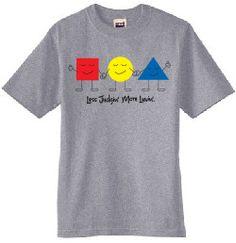 www.lessjudginmoreluvin.com  Youth T-Shirt