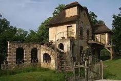 Farmhouse at Marie Antoinette's house in Le Petit Trianon - Versailles.