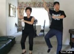 """So, we think know this mom can dance. Dancer Mike Song wrote on YouTube that he had never taught his 60-year-old mom a dance before, but """"she has some serious natural talent."""""""