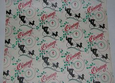 Unused 1960s #hales dept. store #christmas #wrapping paper vintage 1950s gift wra,  View more on the LINK: 	http://www.zeppy.io/product/gb/2/381764529456/