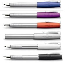 Faber-Castell LOOM fountain pen finally available. $40