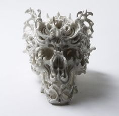 Ornate Porcelain Skulls by Katsuyo Aoki, The Predictive Dream Series. - if it's hip, it's here