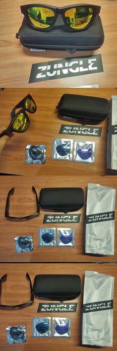 Smart Glasses: Rare Sealed Zungle Panther Sunglasses Matte Black W Bonfire And Ash Titanium Lens -> BUY IT NOW ONLY: $225 on eBay!