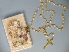 First Communion Gift Set with Girl's or Boy's Missal and Rosary $50.95