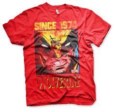 Marvel Wolverine Since 1974  Koszulka Męska