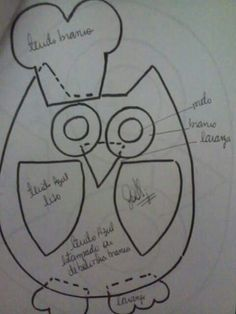 Owl cozinheira