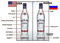 Love this - My spouse and I were in Peace Corps Ukraine  - learned a lot about this love of vodka!