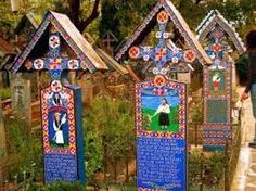 Au pays du cimetière joyeux Sapanta, Roumanie.