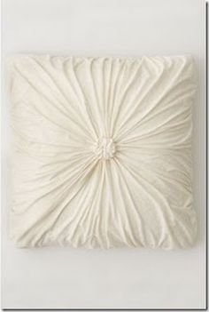 How to Make a Rosette Square Link - to make pillows or quilt squares (if filled with batting)