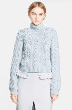 Altuzarra Cable Knit Merino Wool Sweater