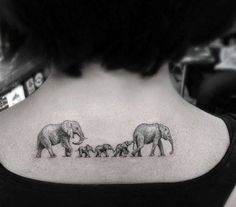 small elephant tattoo - Google zoeken