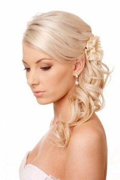 Wedding Hairstyles For Thin Curly Hair