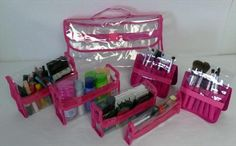 7 piece cosmetic bag is coming soon to www.Totally-Tiffany.com! #makeup #travel #hotelliving #totallytiffany #organization