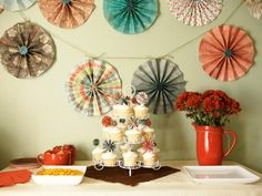 How to Make Pinwheel Cake Toppers | DIY Craft Projects | DIY