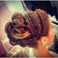 Wedding Hairstyles - Brides With Sass Hair Styles Love Hair, Great Hair, Gorgeous Hair, Beautiful Braids, Wedding Hair And Makeup, Bridal Hair, Hair Makeup, Fancy Hairstyles, Wedding Hairstyles