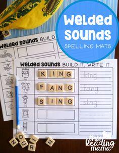 Welded Sounds Spelling Mats