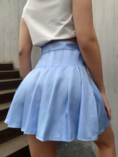 Pleated Mini Skirt, Mini Skirts, Waist Skirt, High Waisted Skirt, Silhouette, Usa, Fashion, Skirts, Moda