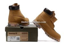 2017 New Timberland Men's Icon 6 Inch Premium Coma Boot Wheat and Black $90.99