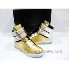 Supra TK Society Metallic Gold Silver For Sale