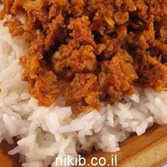 אורז בולונז מתכון לאורז עם בשר