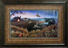 North American Art Evening Harvest by Mark Daehlin Wholesale Fine Framed Farm Rustic Pheasant Wildlife Art Print Painting Frames, Painting Prints, Wildlife Art, Metal Wall Art, American Art, Framed Art Prints, Graphic Art, Harvest