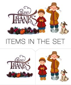 """2 Items Thanksgiving"" by freida-adams ❤ liked on Polyvore featuring art"
