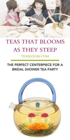 Check out these great ideas & must have flowering teas for Mother's Day or any girls gathering, these tea party bridal shower ideas will inspire you to host your own ladylike event. | #BloomingTea #healthylifestyles #healthyfdiet #healthylife #tealovers #teabloom #healthy #teagiftsets #MothersDay #ValentinesDay #PartyDecor