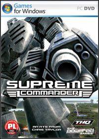 Supreme Commander (PC) okładka