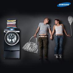 Lavar con una Grace- S de #Samsung te dará todo el tiempo que necesitas el fin de semana.