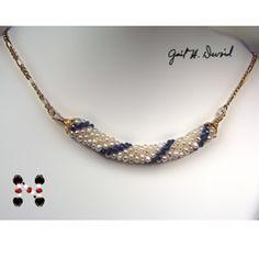 Adding a Beadcap to a Bead Crochet Tube Pattern at Sova-Enterprises.com