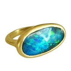 Australisches Schwarz Feuer Opal Infinity Keltisches Ovales Geburtsstein