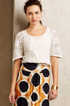Danut Lace Top - anthropologie.com