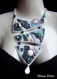 Beautiful jewelry by Oksana Petriv | Beads Magic