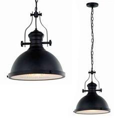 LAMPA wisząca MAEVA MDM-2569/1 Italux metalowa OPRAWA zwis IP20 czarna