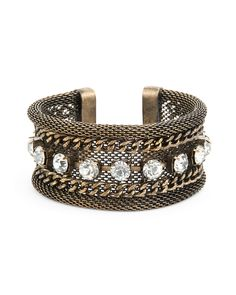Tough Love Cuff - JewelMint *I know I've pinned something like this before, but it's just that awesome