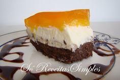 Só Receitas Simples: Torta de Pêssego