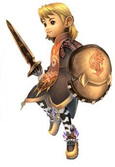 Final Fantasy Crystal Chronicles - Warrior